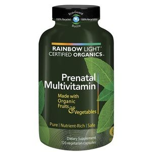 Rainbow Light Prenatal Organic Multivitamin, 120-Count