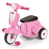 Radio Flyer Classic Lights and Sound Trike, Pink