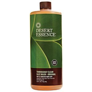 Desert Essence - Thoroughly Clean Face Wash, 32 fl oz liquid