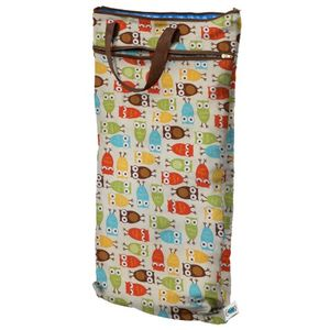 Planet Wise Hanging Diaper Wet/Dry Bag - Owl