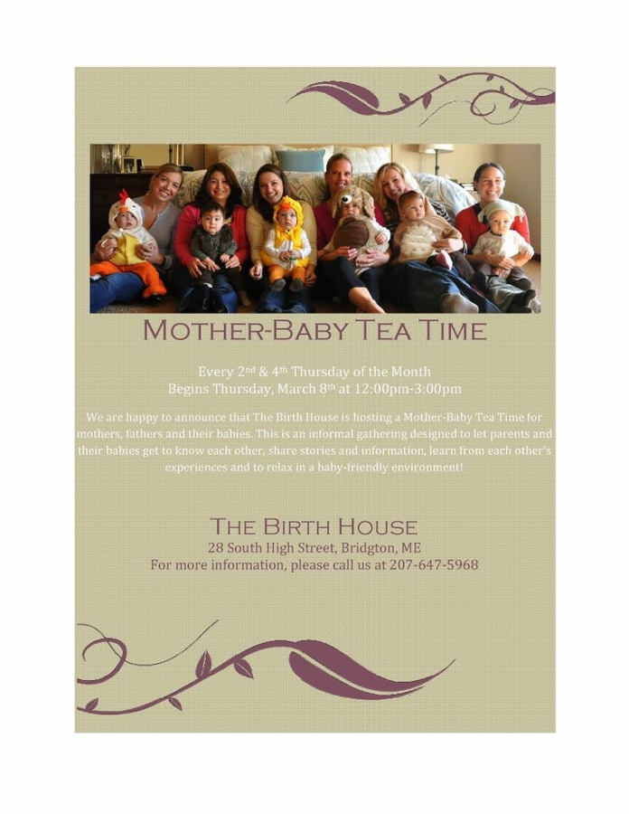 mother baby tea The Birth House