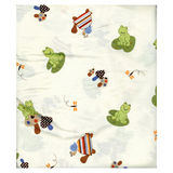 Lambs &amp; Ivy Froggyville Crib Sheet