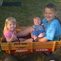 My 3 kids. June 2010- Dallas, TX