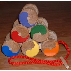 Stack and Roll Pull Toy
