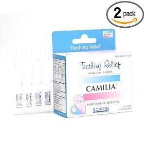 Boiron Homeopathic Medicine Camilia Teething Relief