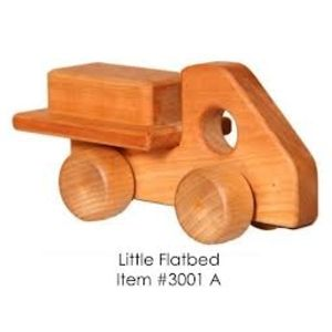Image of: Little Wooden Flatbed Truck