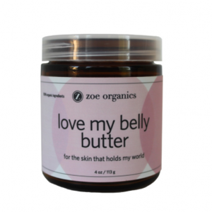 Zoe Organics Love My Belly Butter