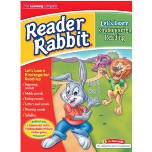 The Learning Company Reader Rabbit Let's Learn Kindergarten Reading