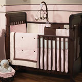 Lambs & Ivy Madison Avenue Baby 4 Piece Bedding Set
