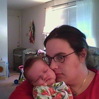 me w new bebe Clara born 7/31