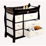 Badger Basket Baby Changing Table with Six Baskets