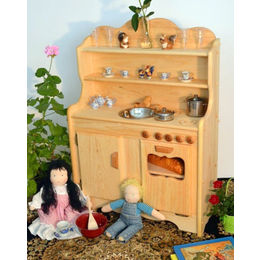Sylvie's Wooden Kitchen -- Mothering Toy Guide 2013
