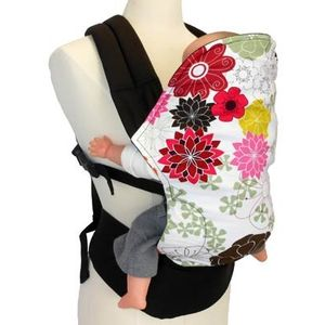 Angel Pack LX Organic Soft Structured Baby Carrier (Chocolate Sherbert)