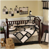 JoJo Designs Animal Safari 9 Piece Crib Set