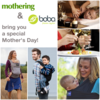 A special Mother's Day contest from Boba and Mothering - win a $500 prize!