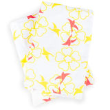 Argington Organic Hearts & Flowers Crib Sheets