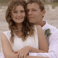 My husband and I on wedding day May 18 2010