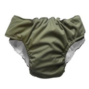 Olive Waterproof Velcro EcaPants