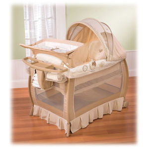 Nature's Purest Complete Comfort Playard - Sleepy Safari