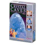"Crystal Caves: 2 ""Aquamarine"" Geodes"