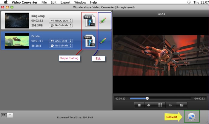 The Video Converter for Mac is really a smart program which is popular among video lovers. It will help you make almost all the video and audio conversions with high efficiency. You can also add special features to the output video through trimming, cropping, adding subtitle, loading watermarks and so on. The most important thing is the lossless output quality which is satisfied. From the below tutorial, you will know more about this program and get some help.