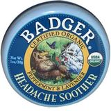 Badger Headache Soother 1oz tin 1 oz (28 g)