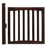 Safety 1st Wooden Swing Gate, Espresso