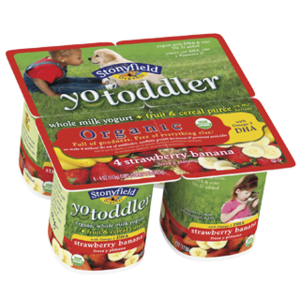 Stonyfield Farm YoToddler Organic Yogurt
