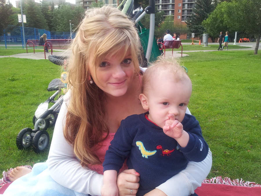 Mommy and Gryffen - Canada Day 12.jpg