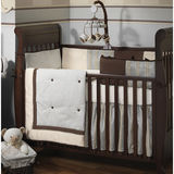 Lambs & Ivy Park Avenue Baby 4 Piece Bedding Set