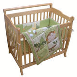 Lambs &amp; Ivy Papagayo Mini Crib Set