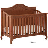 Status Somerset Stages Crib - Walnut