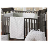 Bebe Star 4 Piece Turtle Organic Cotton Crib Set