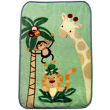 Jungle Babies Luxury Plush Throw