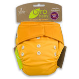 Gro Baby One Size Cloth Diaper Set by The Natural Baby Co Mandarin