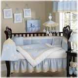 JoJo Designs Blue Dragonfly Dreams 9 Piece Crib Set