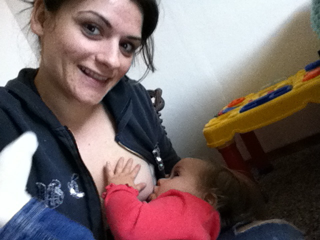 My 15 month old and I love nursing :)