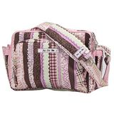 Ju Ju Be Be Tween Diaper Bag, Julias Ribbons Pink Print