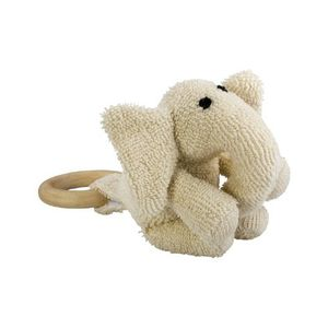 Natural Teething Toy - Zooley Elephant