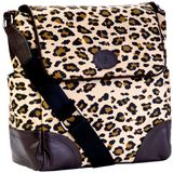 JP Lizzy Leopard Clara Shoulder Bag
