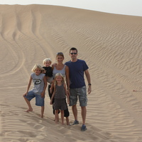 Me and my family in Dubai, UAE