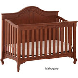 Status Somerset Stages Crib - Mahogany