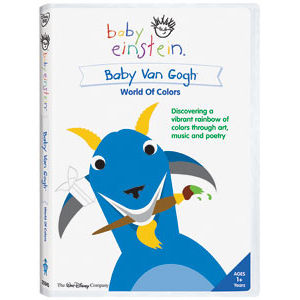 Baby Van Gogh World of Colors DVD