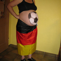 Our World cup soccer baby!