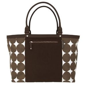 Dwell Studio Diaper Tote Bag, Chocolate