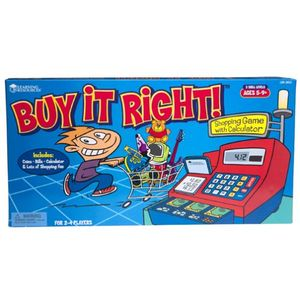 Learning Resources - Buy it Right Shopping Game