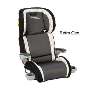 Compass B530 Folding Booster Car Seat - Retro Geo