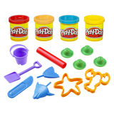 Play-Doh Mini Bucket Assortment - Beach Creations