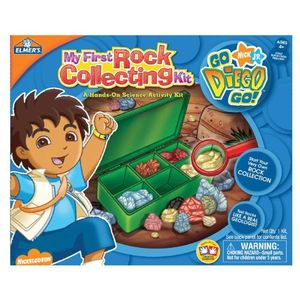 Elmer's Education Diego My First Rock Collecting Kit