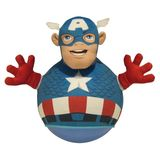 Share The Fun Marvel Super Hero Squad Captain America - Hop and Bounce PlayPals